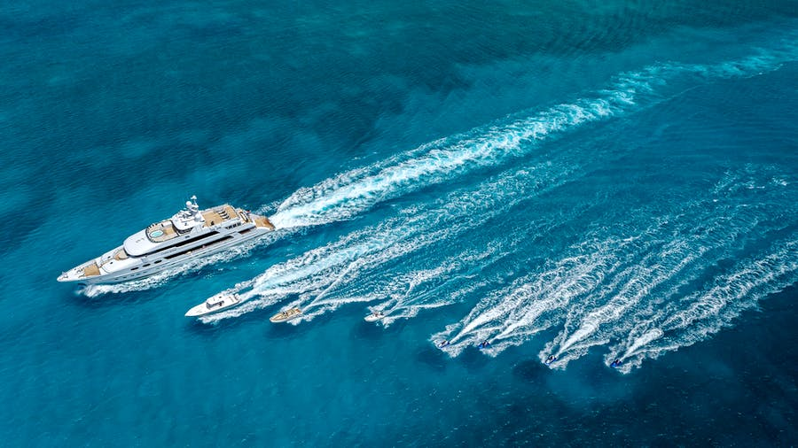 Tendar & Toys for CASINO ROYALE Private Luxury Yacht For charter