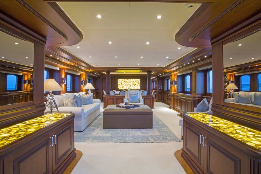 Features for CLARITY Private Luxury Yacht For charter
