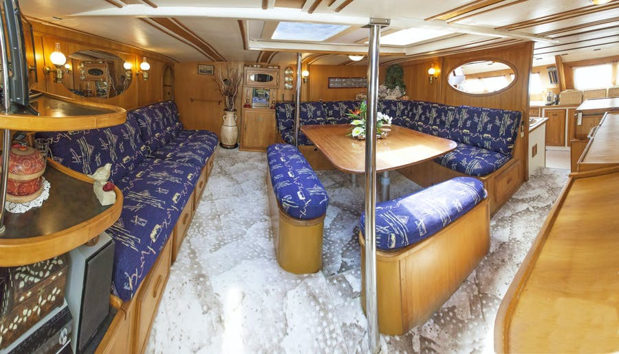 Features for CONAN Private Luxury Yacht For charter