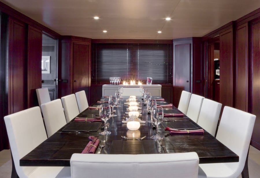 Features for CYAN Private Luxury Yacht For charter