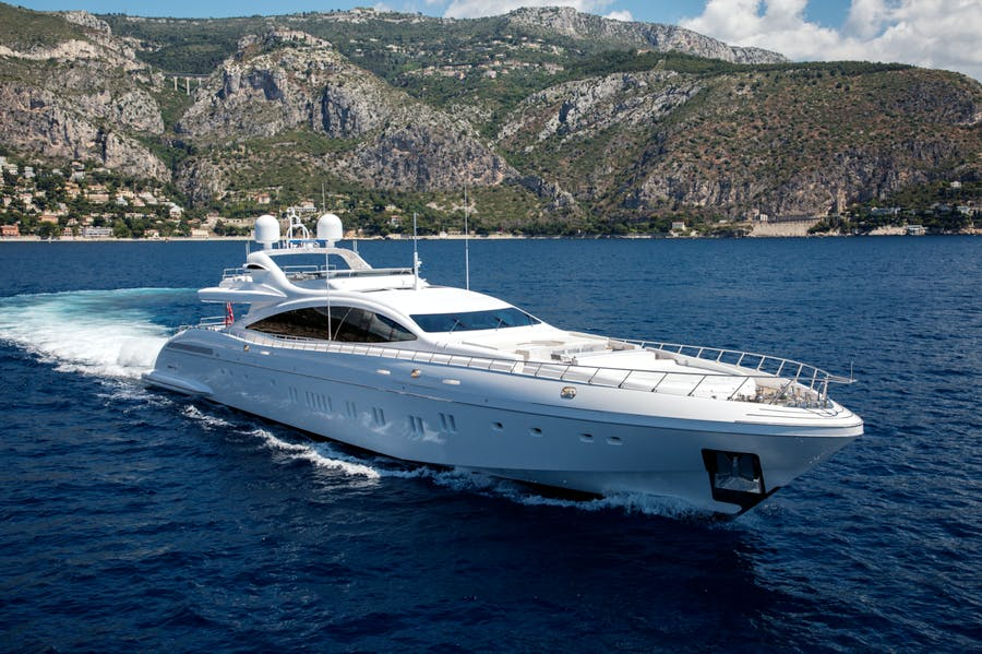 Seasonal Rates for DA VINCI Private Luxury Yacht For Charter