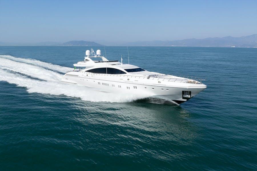 Tendar & Toys for DA VINCI Private Luxury Yacht For charter