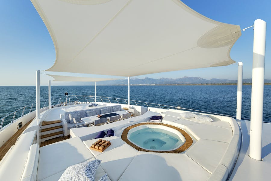 Features for DA VINCI Private Luxury Yacht For charter