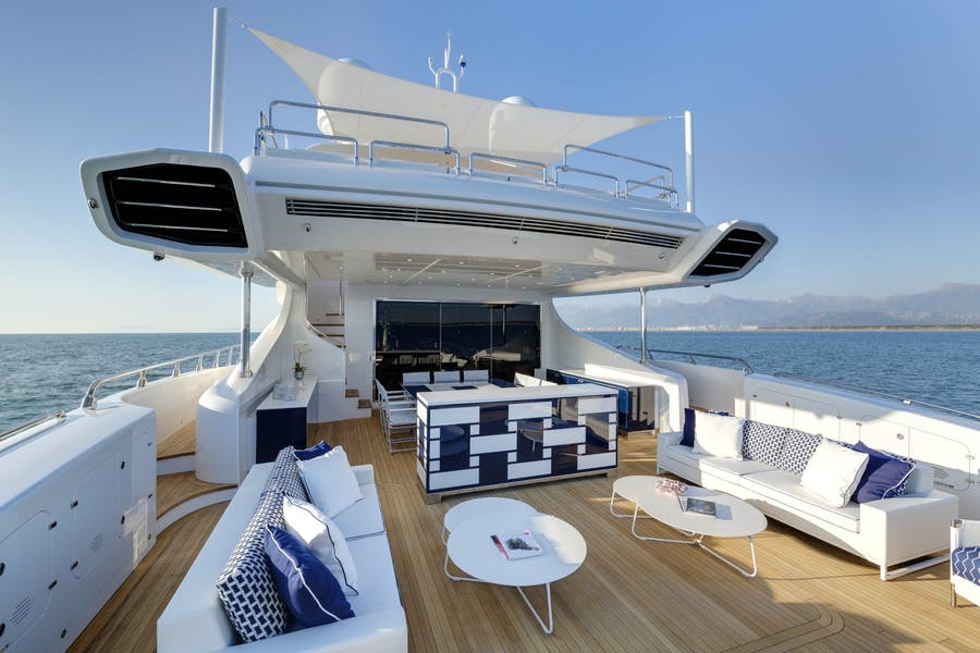 Tendar & Toys for DA VINCI Private Luxury Yacht For charter