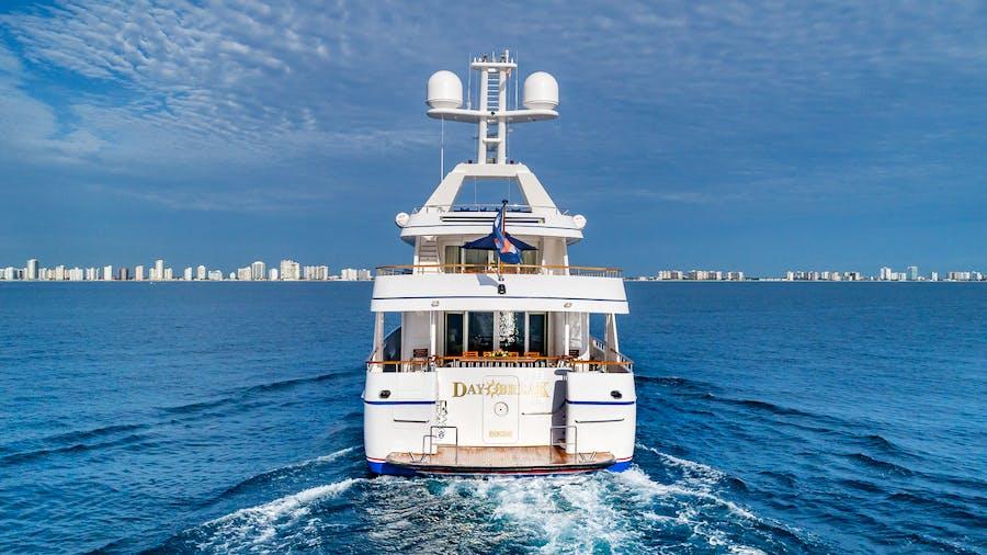 Tendar & Toys for DAYBREAK Private Luxury Yacht For charter
