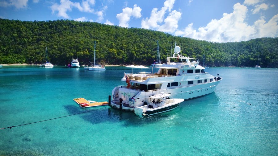 Tendar & Toys for LIONSHARE Private Luxury Yacht For charter