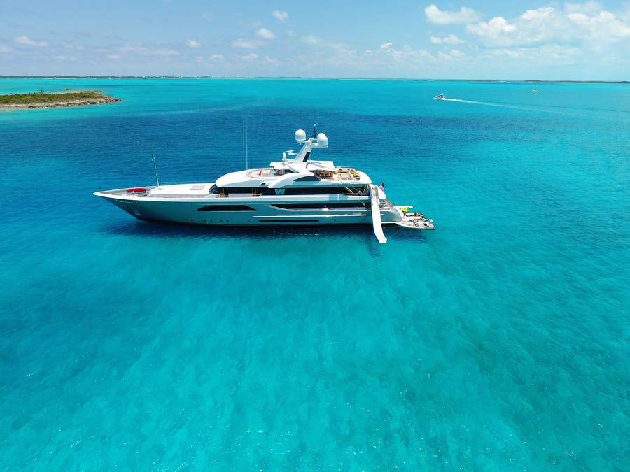 Tendar & Toys for W Private Luxury Yacht For charter