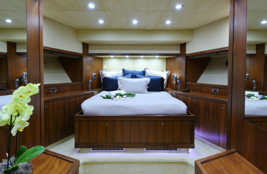 Features for DOUBLE D Private Luxury Yacht For charter