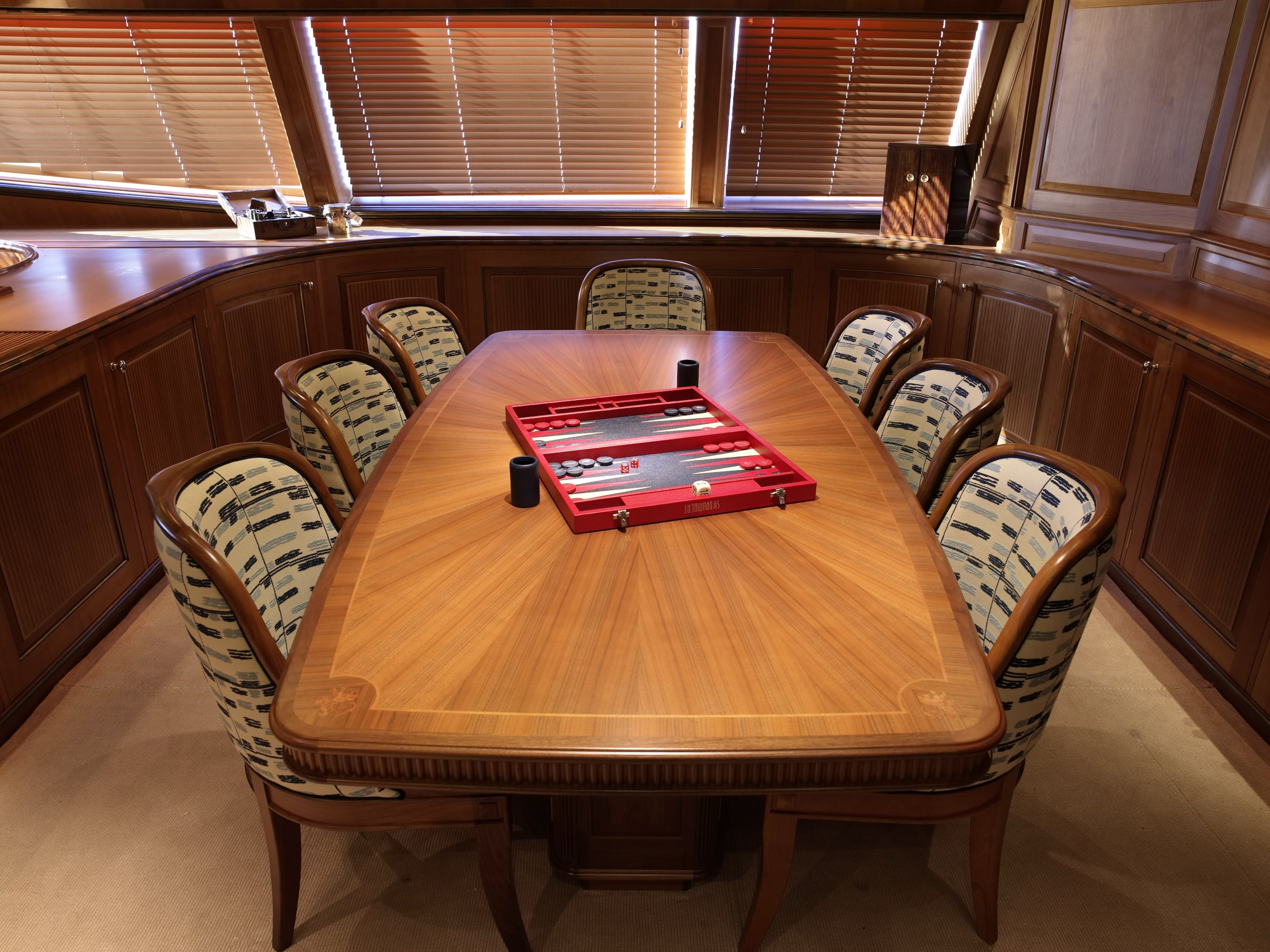 Seasonal Rates for DRUMBEAT Private Luxury Yacht For Charter