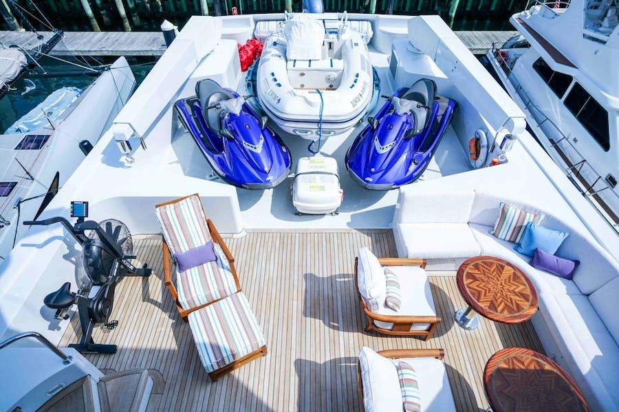 Tendar & Toys for WONDERLAND Private Luxury Yacht For charter