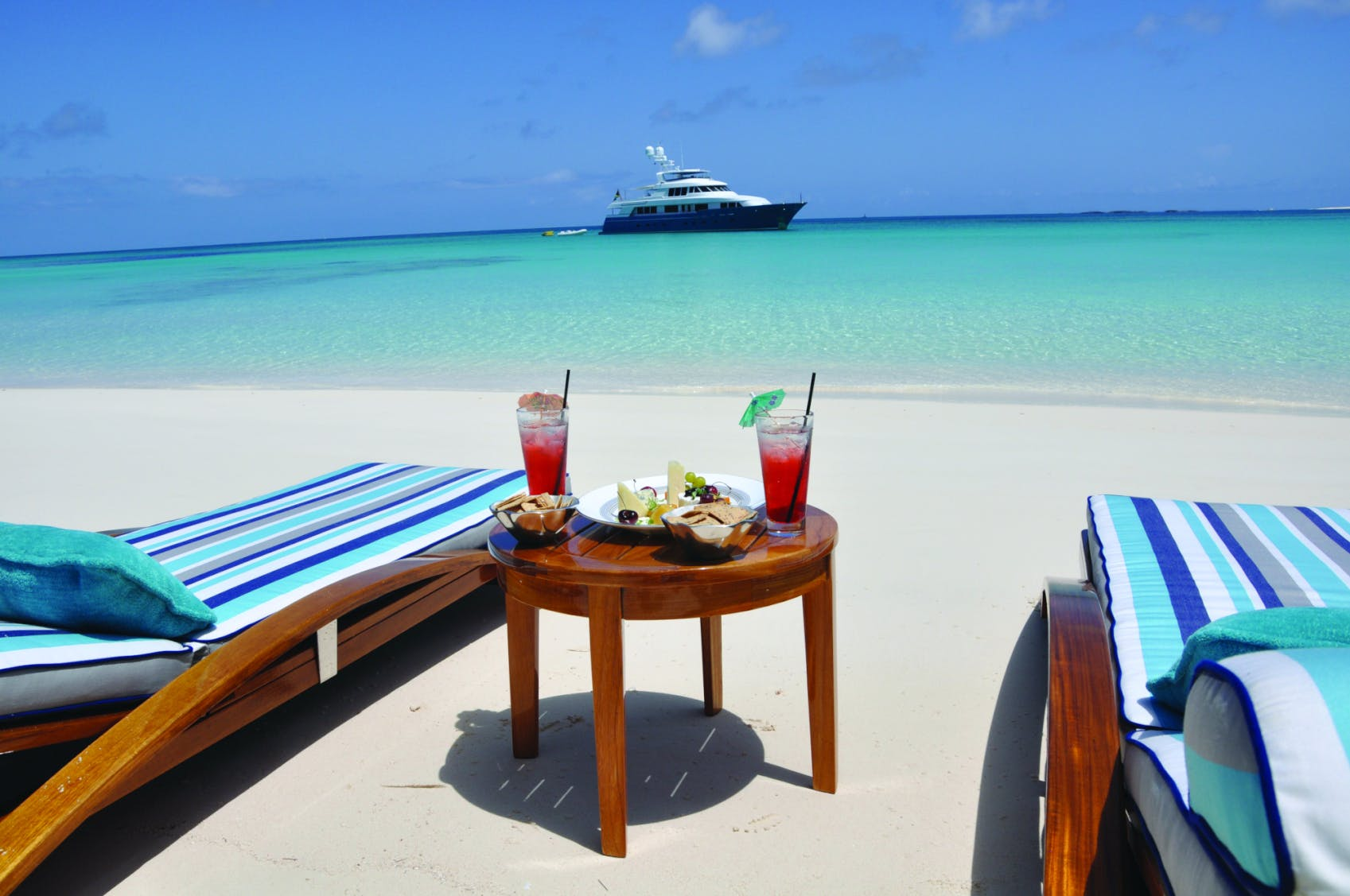 Seasonal Rates for FORE ACES Private Luxury Yacht For Charter
