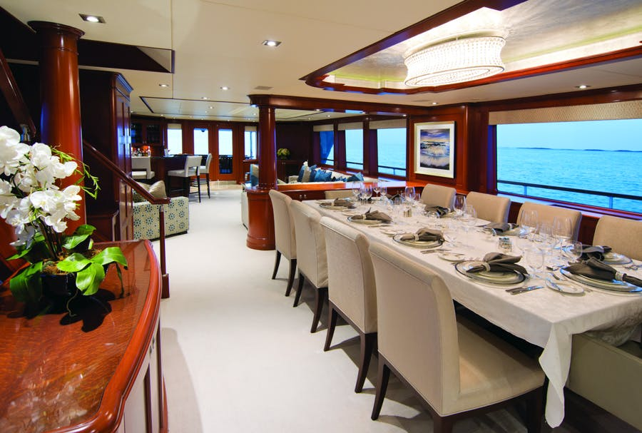 Features for FORE ACES Private Luxury Yacht For charter