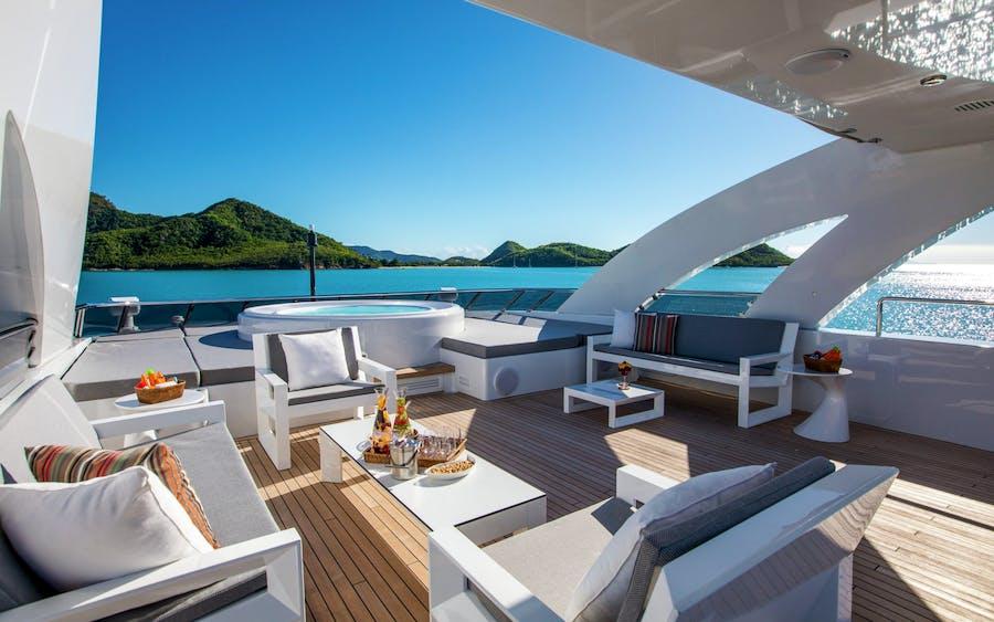 Tendar & Toys for G3 Private Luxury Yacht For charter