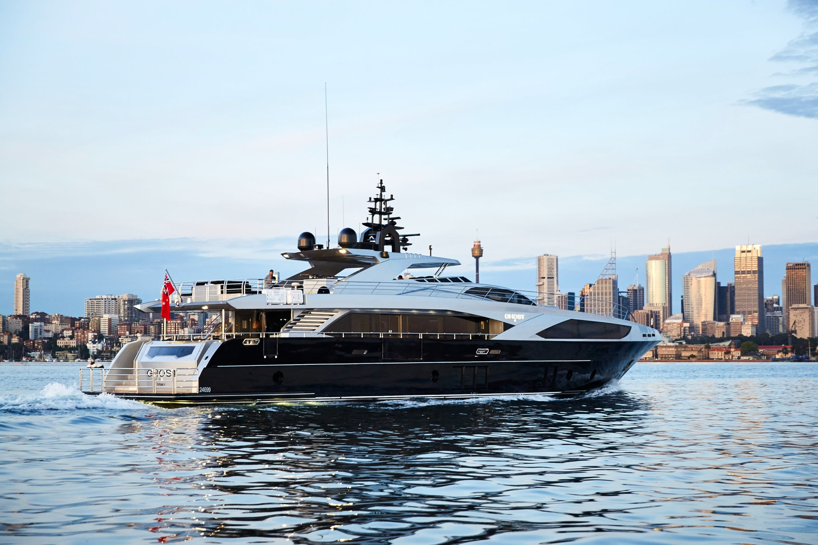 Seasonal Rates for GHOST II Private Luxury Yacht For Charter