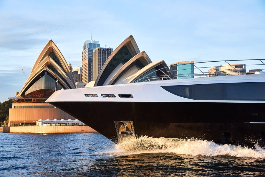 Features for GHOST II Private Luxury Yacht For charter
