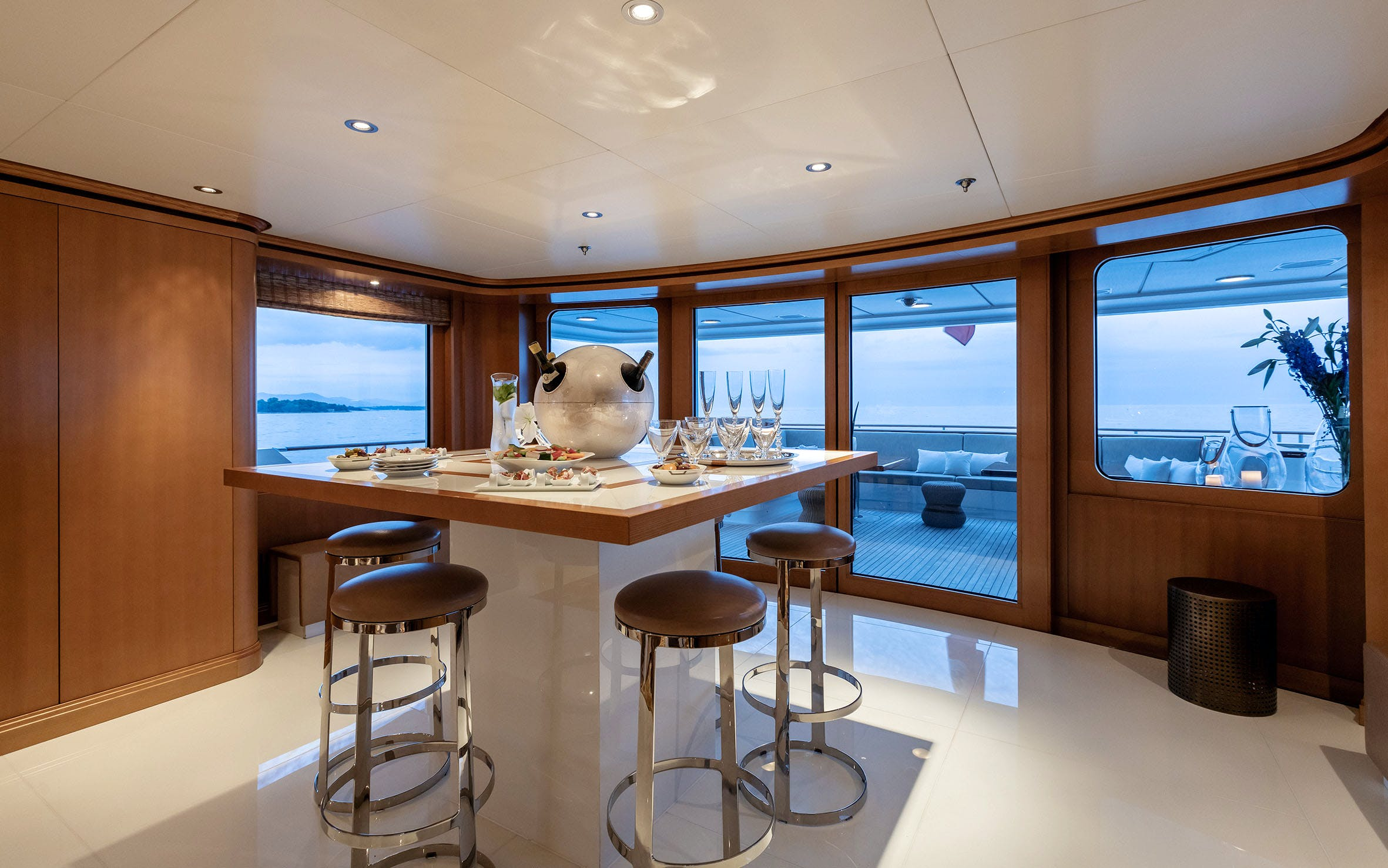 Seasonal Rates for HELIOS Private Luxury Yacht For Charter