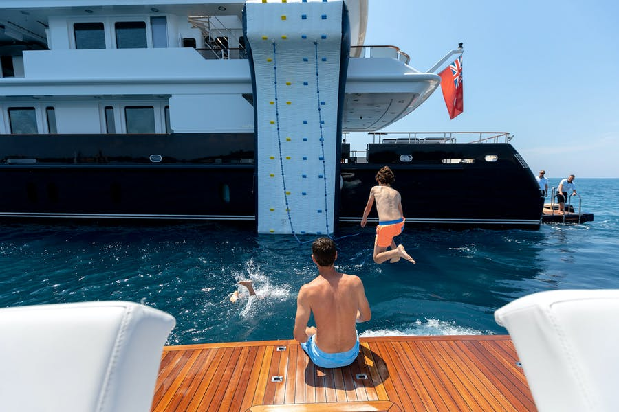 Tendar & Toys for HELIOS Private Luxury Yacht For charter