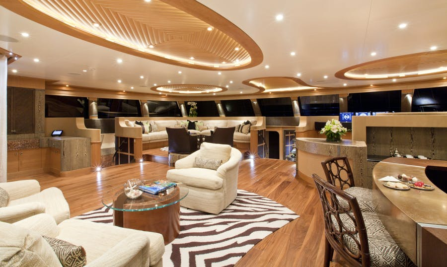 Features for HEMISPHERE Private Luxury Yacht For charter