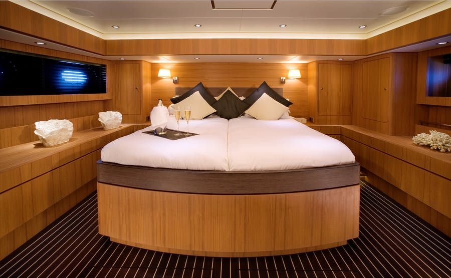Features for ICARUS Private Luxury Yacht For charter