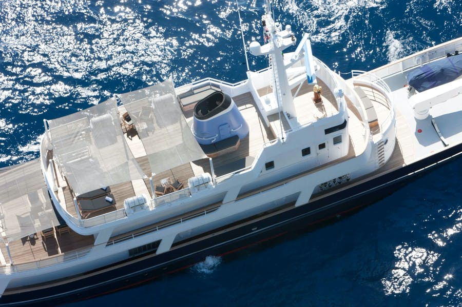 Tendar & Toys for ICE LADY Private Luxury Yacht For charter