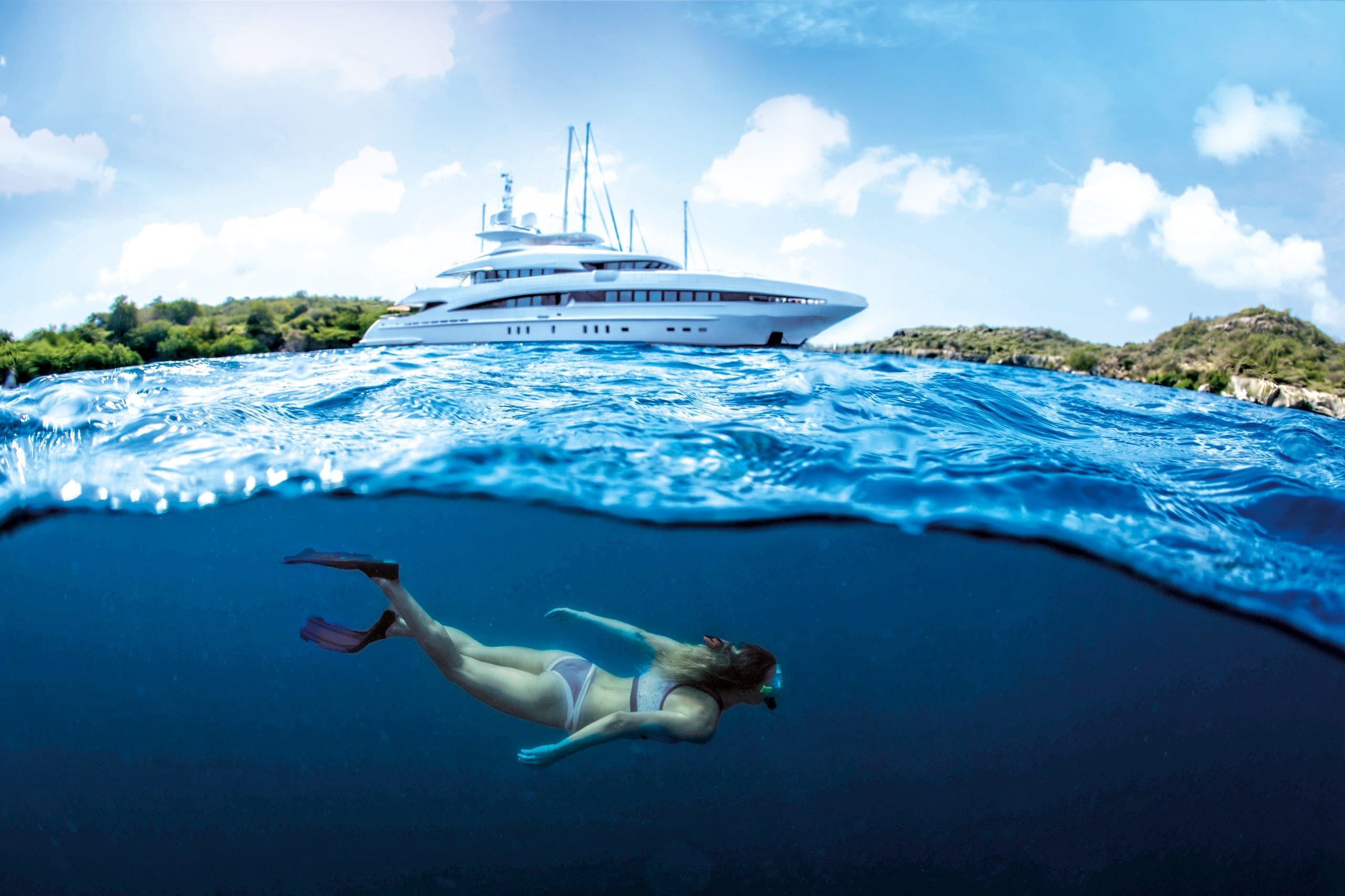 Seasonal Rates for INCEPTION Private Luxury Yacht For Charter