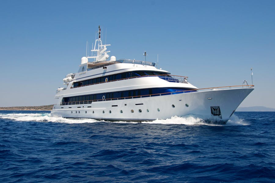 Seasonal Rates for IONIAN PRINCESS Private Luxury Yacht For Charter