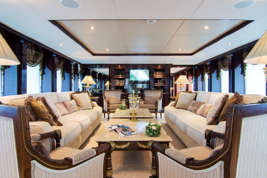 Features for IONIAN PRINCESS Private Luxury Yacht For charter