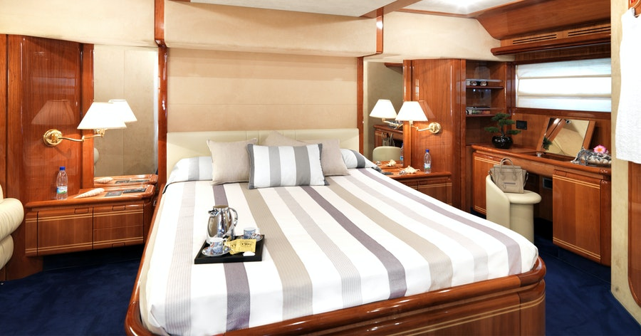 Features for IROUE Private Luxury Yacht For charter