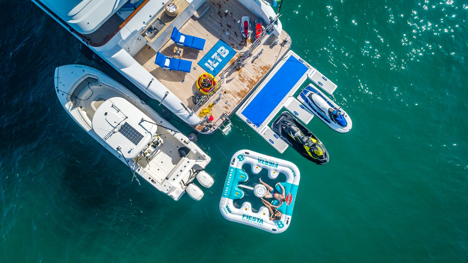 Seasonal Rates for I LOVE THIS BOAT Private Luxury Yacht For Charter