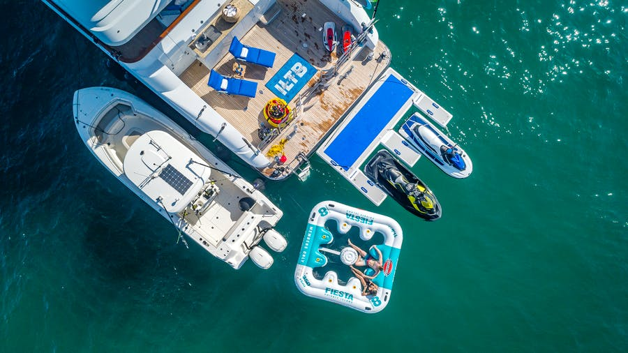 Tendar & Toys for I LOVE THIS BOAT Private Luxury Yacht For charter