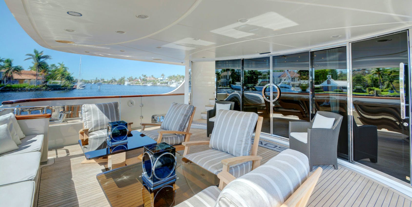 Seasonal Rates for KAOS Private Luxury Yacht For Charter