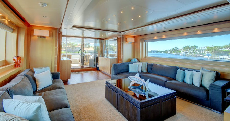 Features for KAOS Private Luxury Yacht For charter
