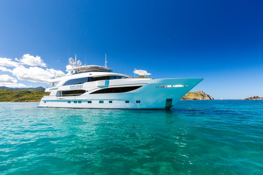 Seasonal Rates for KING BABY Private Luxury Yacht For Charter