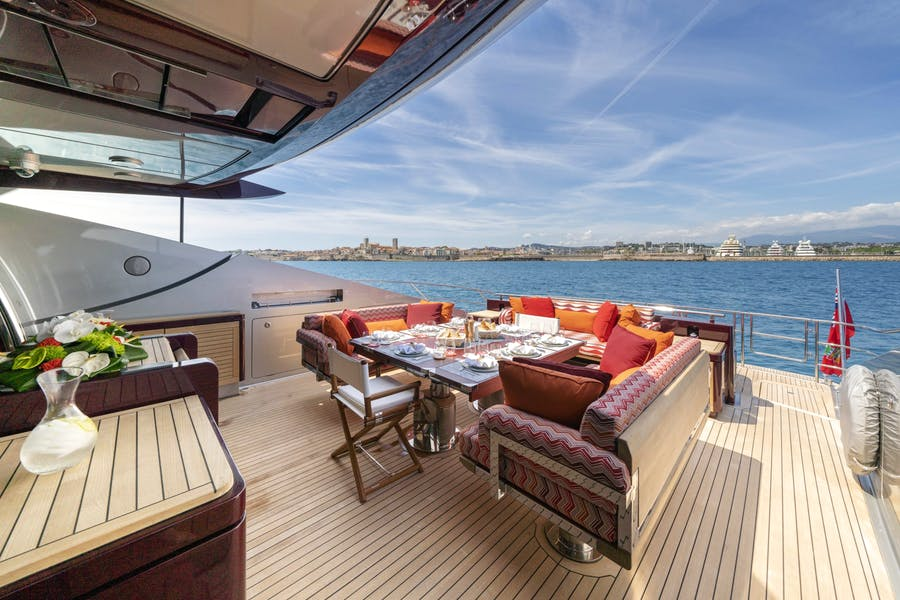 Features for KJOS Private Luxury Yacht For charter