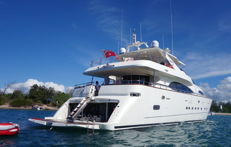 Features for LADY PAMELA Private Luxury Yacht For charter