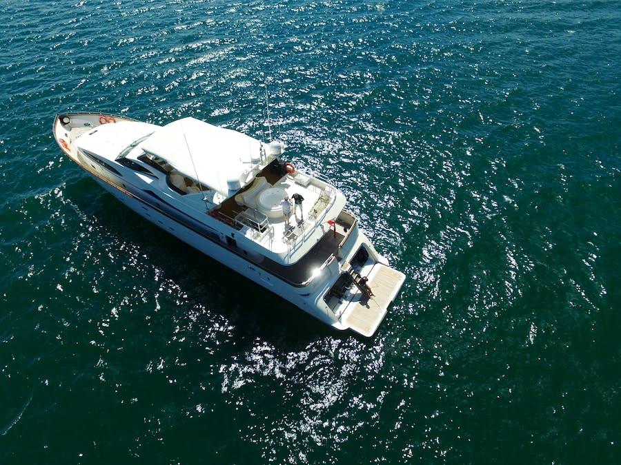 Tendar & Toys for LADY PAMELA Private Luxury Yacht For charter