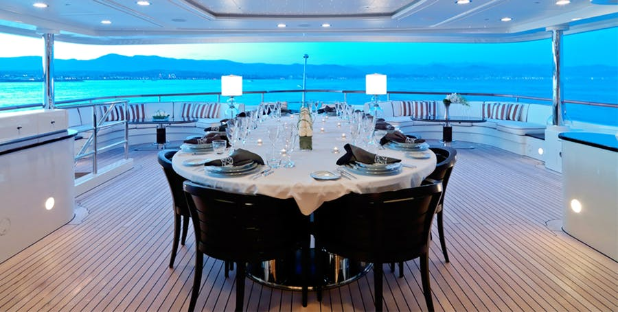 Tendar & Toys for LATITUDE Private Luxury Yacht For charter