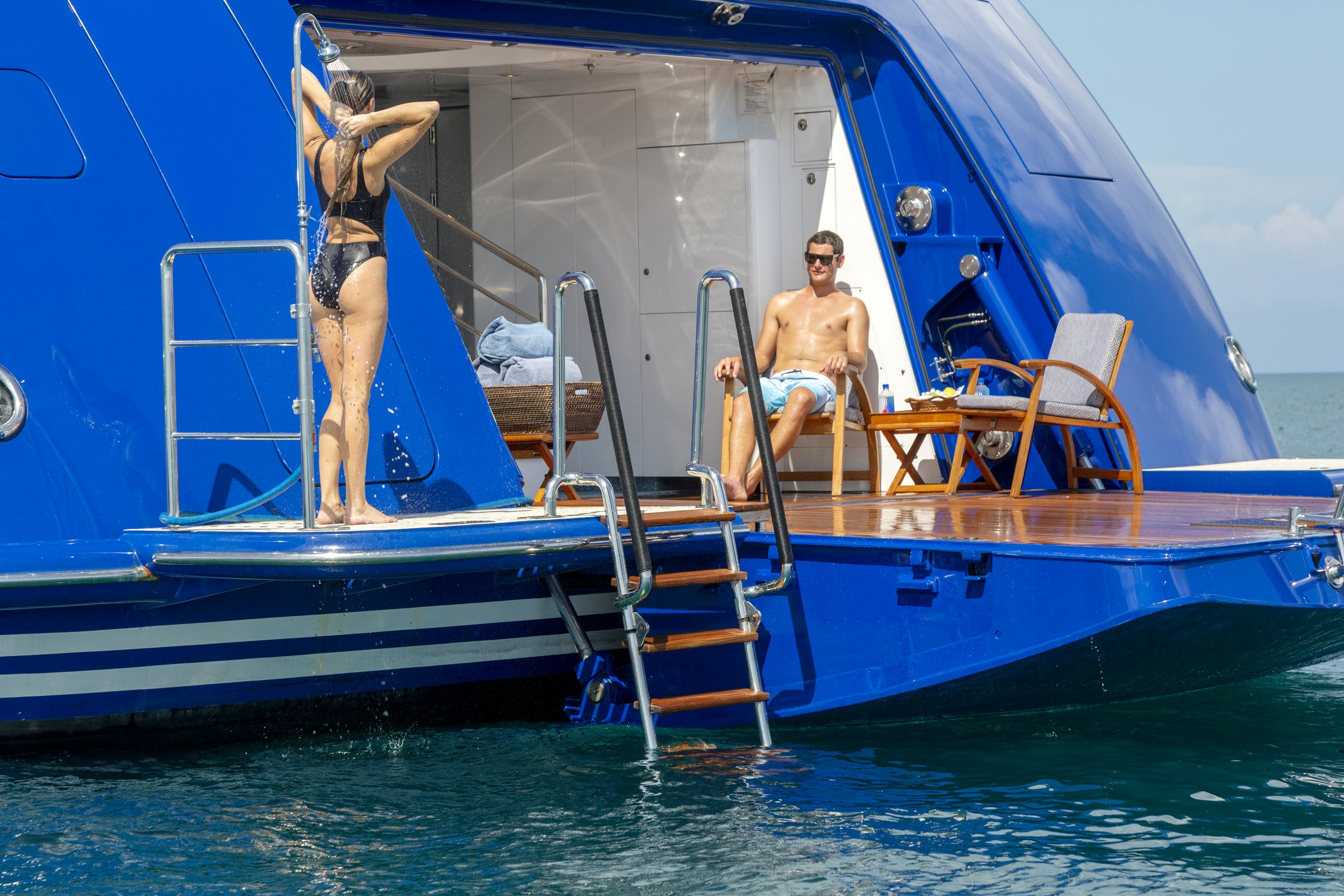 Seasonal Rates for LAUREL Private Luxury Yacht For Charter