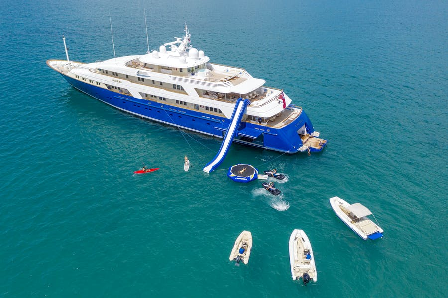 Tendar & Toys for LAUREL Private Luxury Yacht For charter