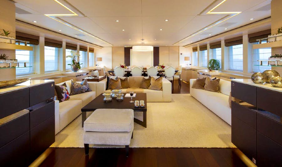 Tendar & Toys for LADY L Private Luxury Yacht For charter