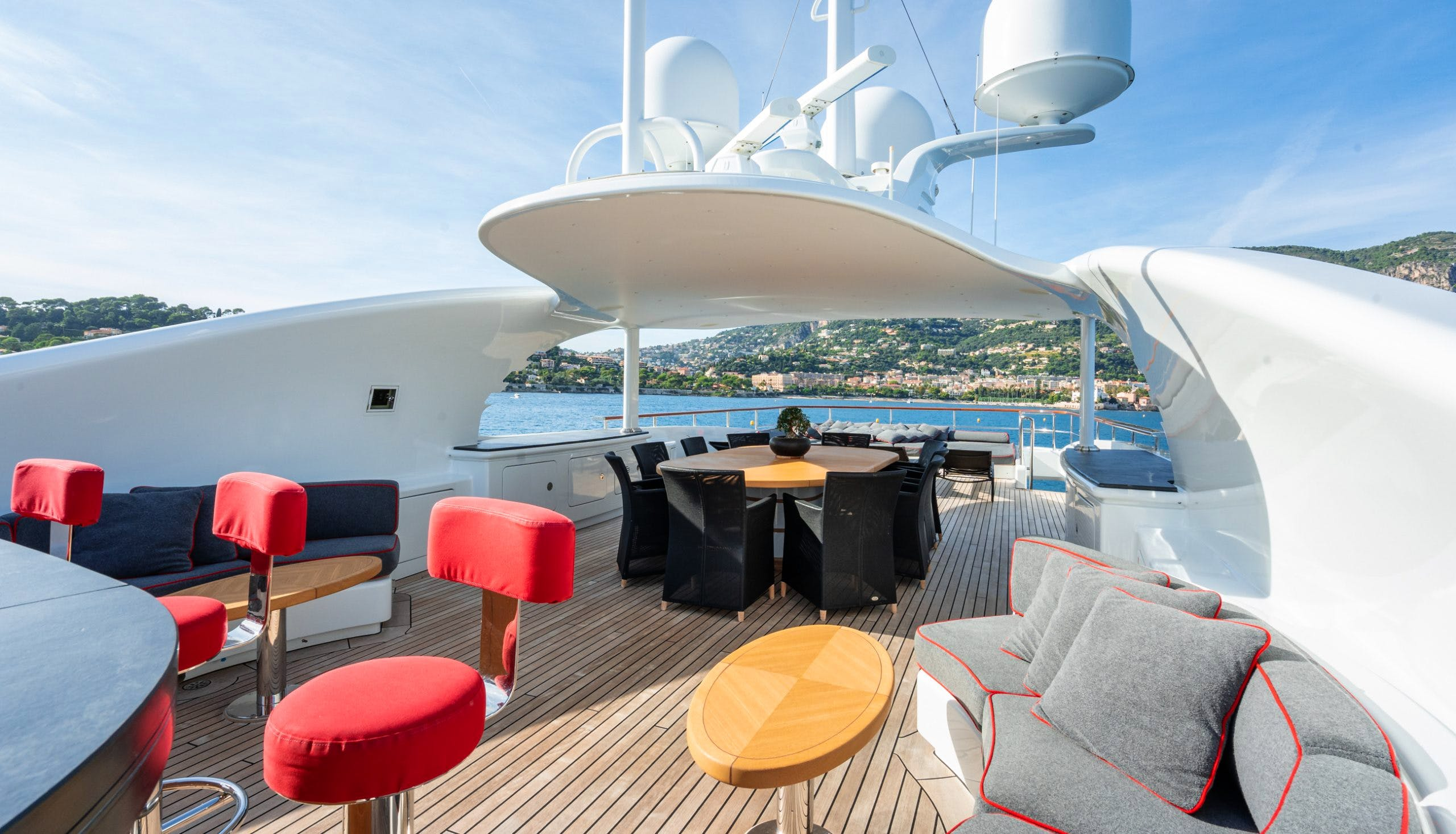 Seasonal Rates for LIBERTY Private Luxury Yacht For Charter
