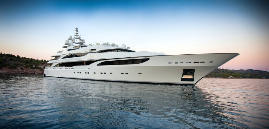 Seasonal Rates for LIONESS V Private Luxury Yacht For Charter