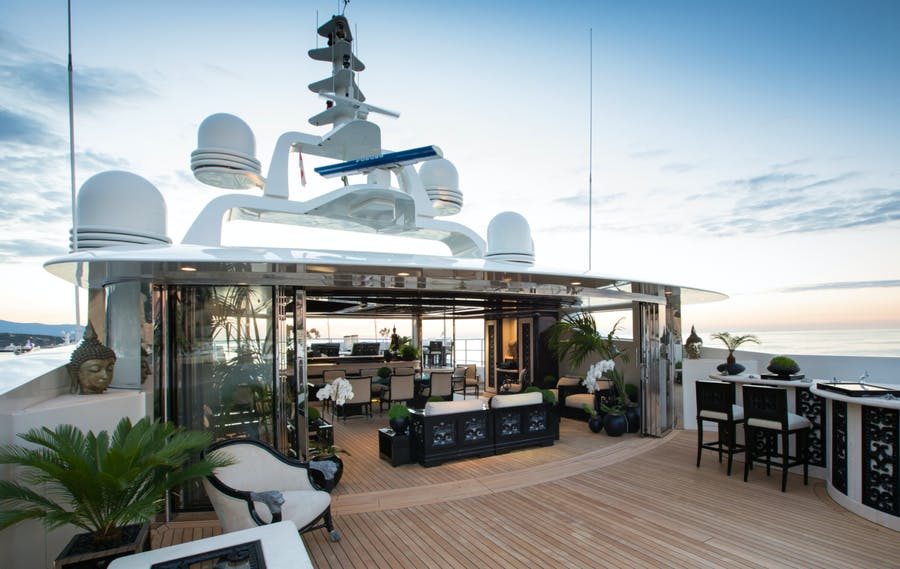 Tendar & Toys for LIONESS V Private Luxury Yacht For charter