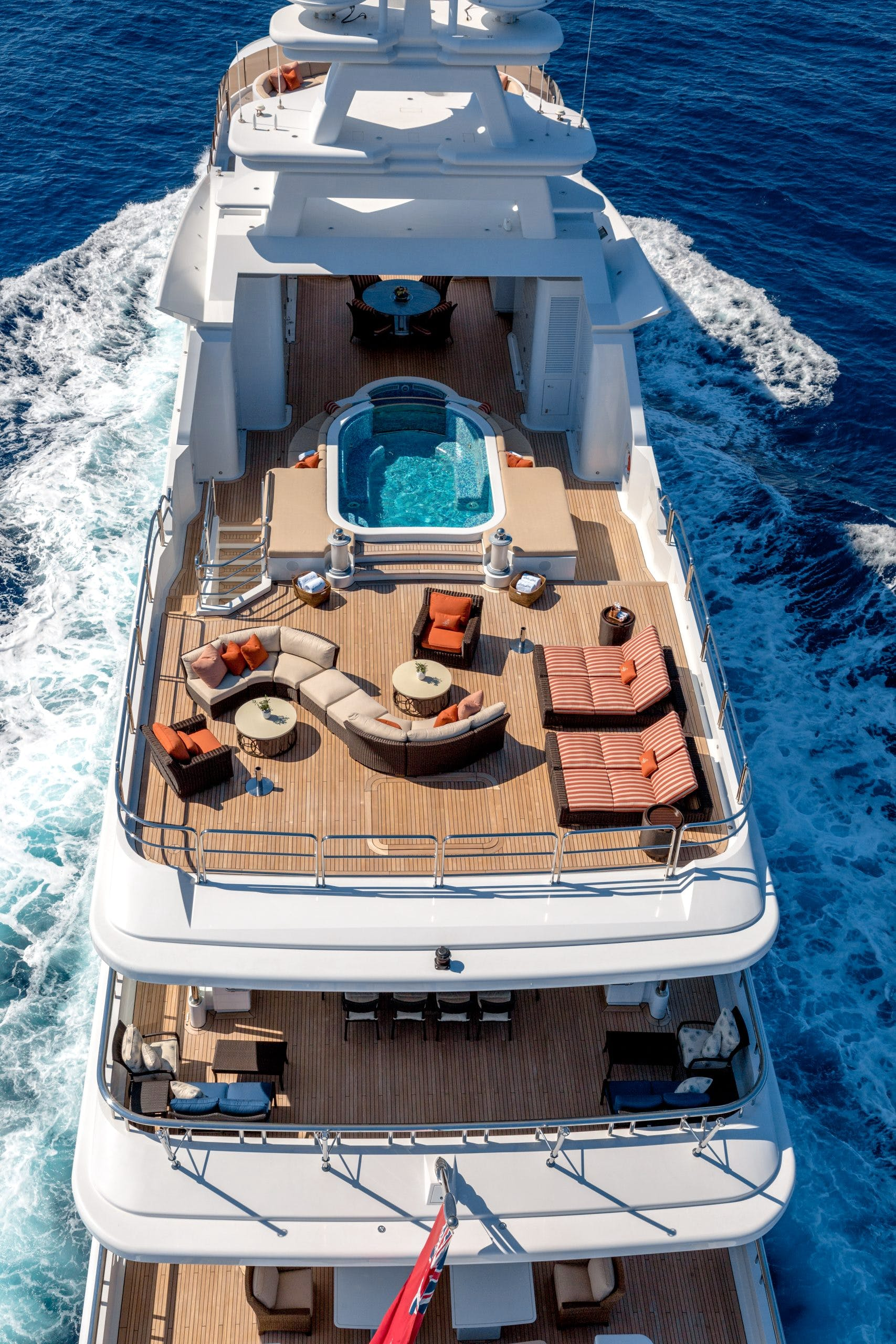 Seasonal Rates for LUCKY LADY Private Luxury Yacht For Charter