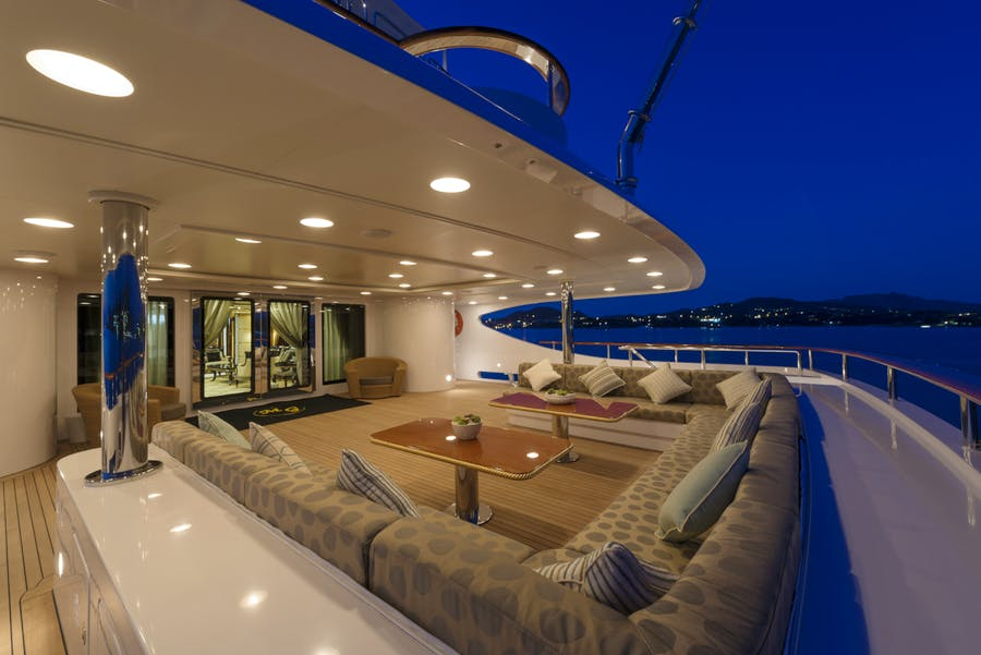 Seasonal Rates for LUMIERE II Private Luxury Yacht For Charter
