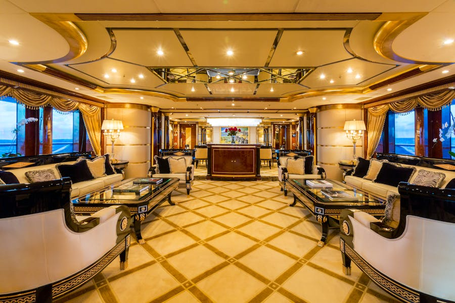Features for LUMIERE Private Luxury Yacht For charter