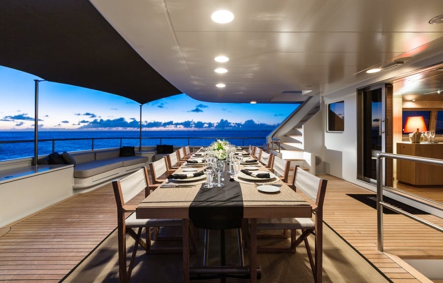 Features for MARIU Private Luxury Yacht For charter