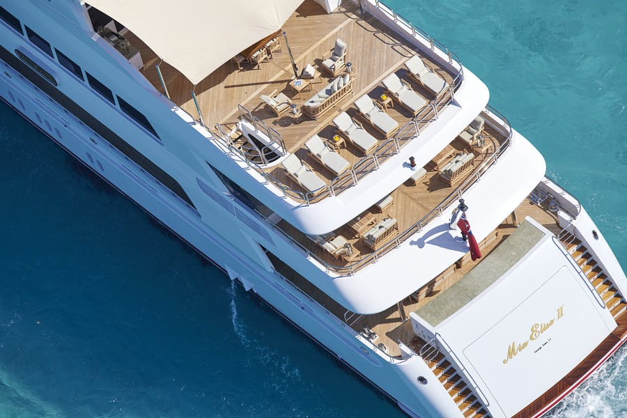Tendar & Toys for MIA ELISE II Private Luxury Yacht For charter