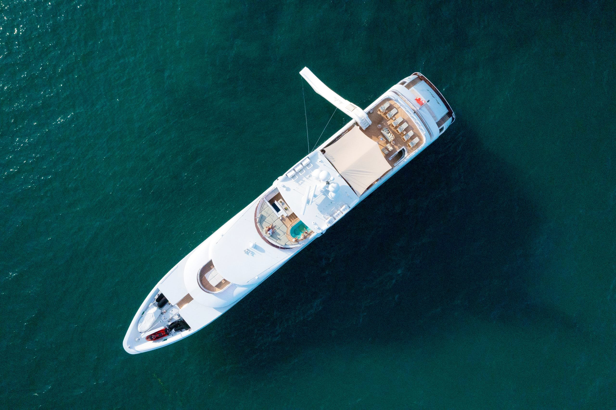 Seasonal Rates for MIA ELISE II Private Luxury Yacht For Charter