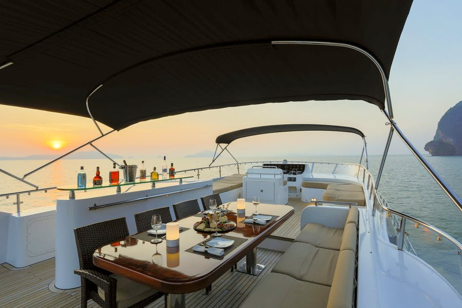 Tendar & Toys for MIA KAI Private Luxury Yacht For charter